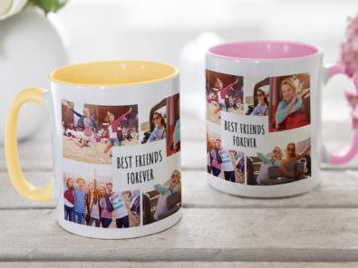 Die Fototasse Ist Ein Echter Fotogeschenke Klassiker! Gestalten Sie Die  Tasse In Verschiedenen Farben Mit Collagen, Text Und Ihren Fotos.