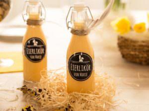 Foto-Etikett Flasche