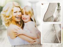 Fotofigur Mutter und Tochter