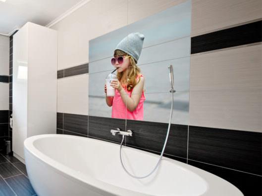 Bad selber fliesen stunning nachrsten with bad selber fliesen perfect badezimmer badezimmer - Fotofliesen bad ...