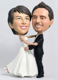 Fotofigur 3D Paar Hochzeit