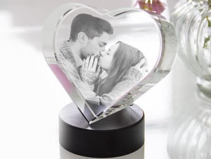 Glasherz Liebe