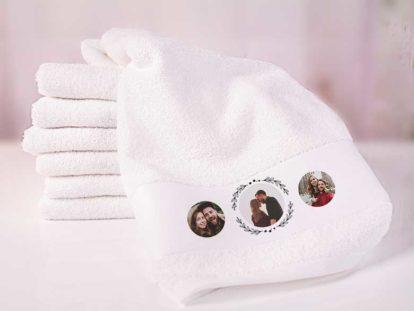 Handtuch mit Foto Liebe