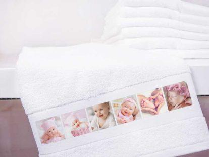 Handtuch mit Foto Baby