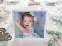 Postkarte quadratisch Taufe