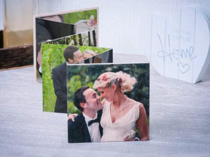 Leporello-Fotobuch Hochzeit