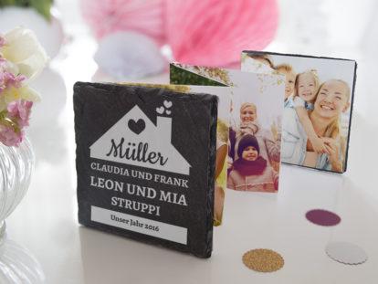 Leporello-Fotobuch Familie