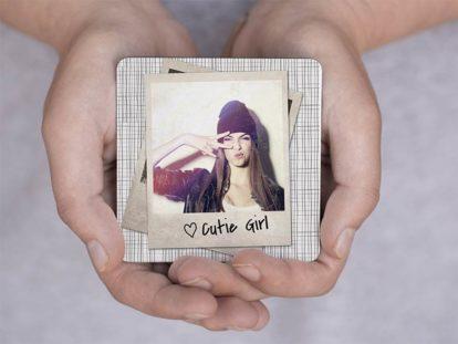 Fotomagnet Cute Girl