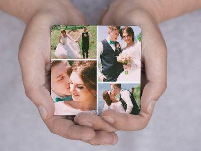 Fotomagnet Hochzeit