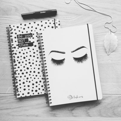 Mein Notizbuch Augen