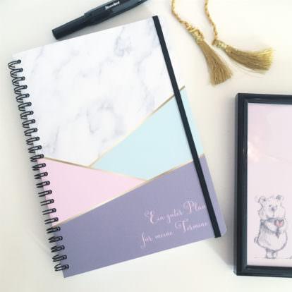 Mein Notizbuch rosa