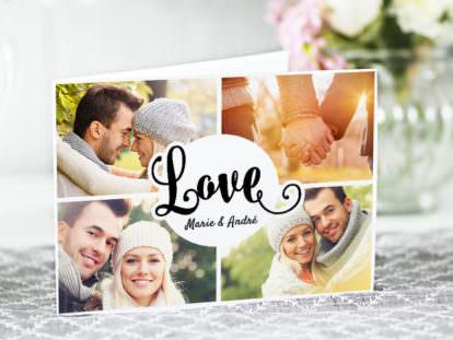 Postkarte Liebe