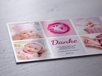 Postkarte Geburt
