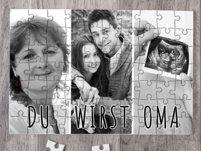 Fotopuzzle Oma