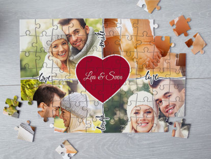 Fotopuzzle Liebe