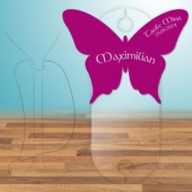 Schmetterling Tischkarte selbst gestalten