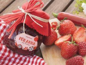Marmelade mit Foto