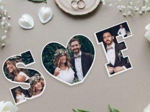 Dekobuchstaben zur Hochzeit