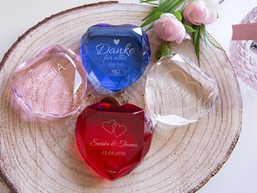 Herzdiamant varianten